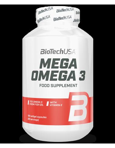 Mega Omega 3 - 180 softgels