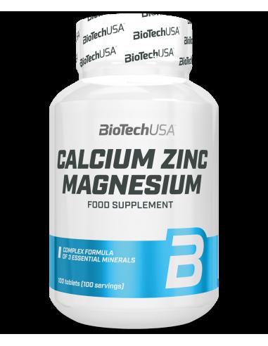 Calcium-Zinc-Magnesium (ZMA)
