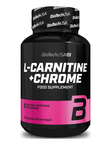 L-Carnitine + CHROME - 60caps