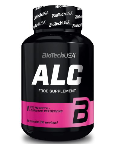 ALC - ACETYL L-CARNITINE - 60caps