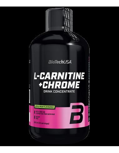 L-Carnitine Liquid + Chrome - 500ml