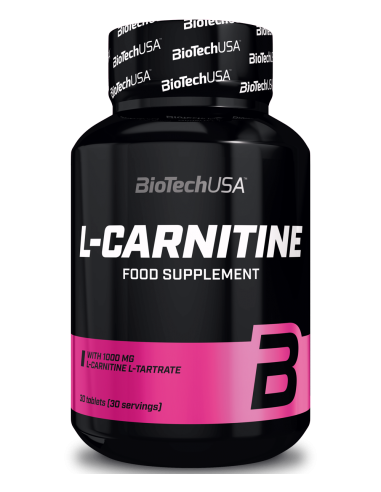 L-Carnitine 1000mg - 30 tablets